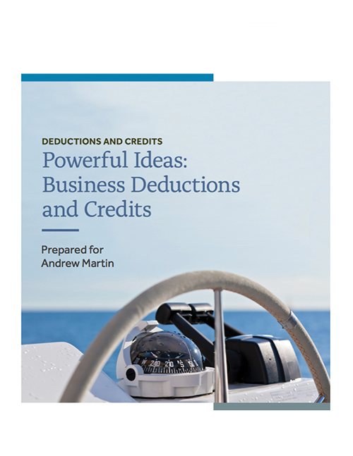 Business Deduction and Credits Thumbnail